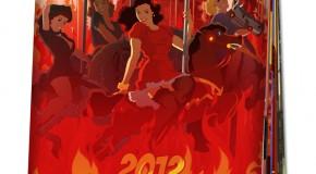 Calendrier 2012 de sexy pin-ups apocalyptiques