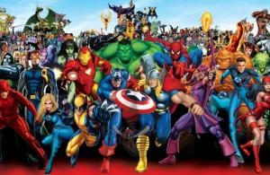 Toute la phase 3 des films Marvel en une image