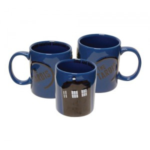 Mug Tardis relief 2D - Doctor Who