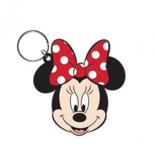 Porte-clé Minnie Mouse caoutchouc 6cm