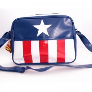 Sac à bandoulière Captain America : Uniforme