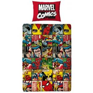 Parure de lit Marvel Comics réversible 135x200cm : Defenders