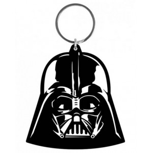 Porte-cl�s Dark Vador en caoutchouc de 6 cm