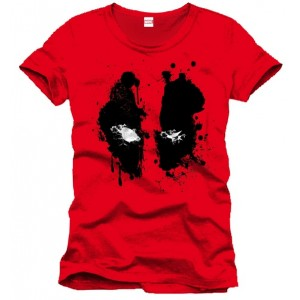 T-Shirt Deadpool : Splash Head