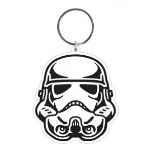 Porte-clés Stormtrooper en caoutchouc de 6 cm