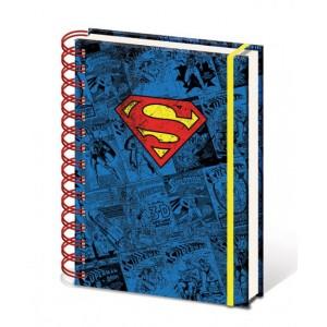 Cahier à spirale A5 Superman