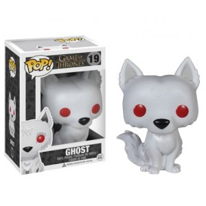 Figurine Ghost, le Dire Wolf de Game of Thrones - Pop! Vinyl