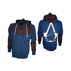 Sweater à capuche Assassin's Creed Unity femme : Bronze Printed Art