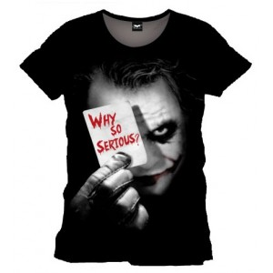 T-shirt Joker : Why So Serious? - The Dark Knight