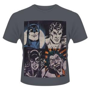 T-shirt DC Comics Originals : 4 faces