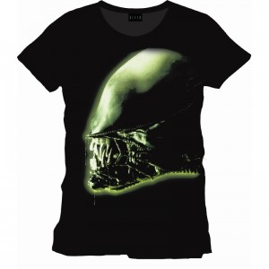 T-shirt Alien : Isolation cover