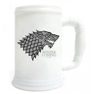 Chope Stark en céramique de Game Of Thrones