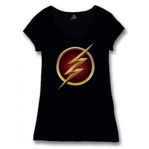 T-shirt femme logo The Flash