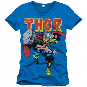 T-shirt Thor The Mighty bleu