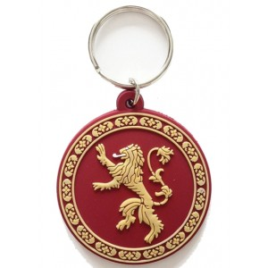 Porte-clé Lannister 6cm caoutchouc Game Of Thrones