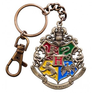 Porte-clés métal Hogwarts 5 cm - Harry Potter
