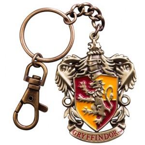 Porte-clés Gryffindor en métal 5 cm - Harry Potter
