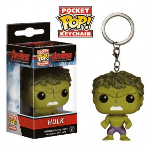 Porte-cl�s Hulk version POP! Vinyl