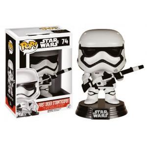 Figurine Stormtrooper First Order avec Blaster Exclusive Pop! Vinyle