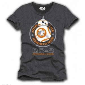 T-shirt gris BB-8