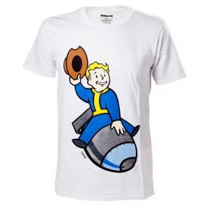 T-shirt Vault Boy sur une bombe - Fallout 4