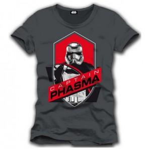 T-shirt gris Captain Phasma - Star Wars 7