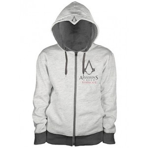 Sweater à capuche Assassin's Creed Syndicate gris