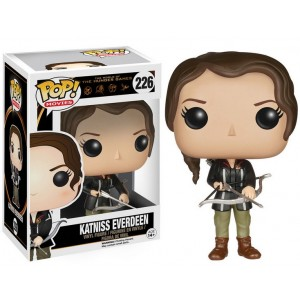Figurine Katniss Everdeen Pop! Vinyl Hunger Games 9cm