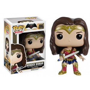 Figurine Wonder Woman Pop! Vinyle Batman vs Superman