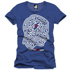 T-shirt Labyrinthe de Sheldon Cooper - BIg Bang Theory