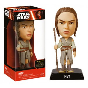 Bobble Head Rey 15 cm Wacky Wobbler - Star Wars Episode VII