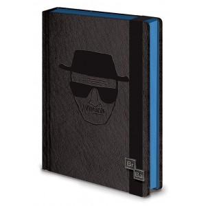 Carnet de notes Heisenberg A5 Premium Breaking Bad