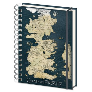 Carnet de notes Westeros A5 Game Of Thrones