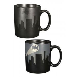 Mug Batman Bat Signal avec décor thermique