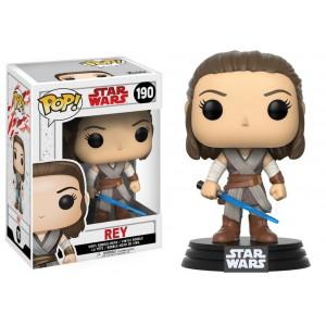 Figurine POP! Rey Star Wars E8 TLJ 9cm