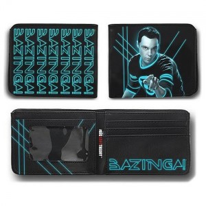 Portefeuille The Big Bang Theory : Bazinga! laser