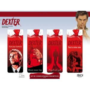 Set de 4 Marque-Pages Dexter