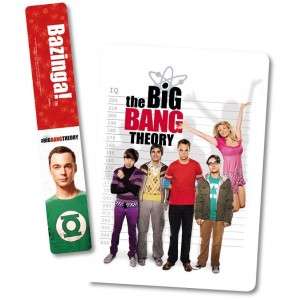 Carnet et marque-page The Big Bang Theory
