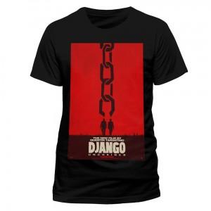 T-Shirt Django Unchained Affiche