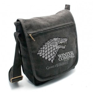 Sac besace Stark Game of Thrones (moyen format)