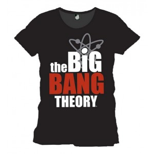 T-shirt logo Big Bang Theory noir homme