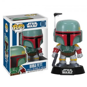 Figurine Bobble Head Pop! Vinyl Boba Fett