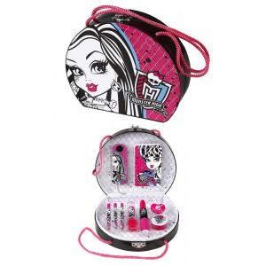 Mallette 10 pièces de papeterie, Monster High