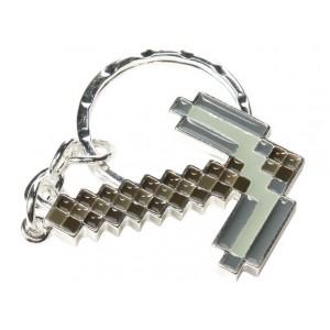 Porte-clé pioche de Minecraft
