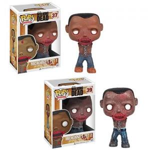 Figurines zombies de Michonne Pop! vinyle
