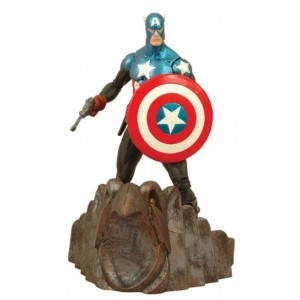 Figurine Captain America collection Marvel Select 18cm