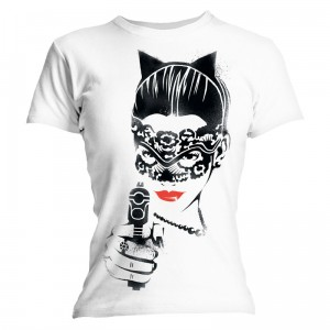 T-Shirt Femme Catwoman (The Dark Knight Rises)