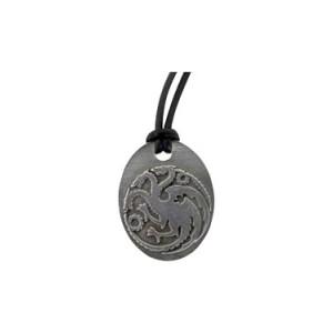 Pendentif bronze Maison Targaryen, Game of Thrones