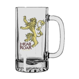 Chope Lannister en verre - Game Of Thrones