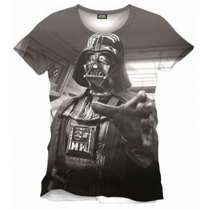 T-Shirt Star Wars Dark Vador All Over